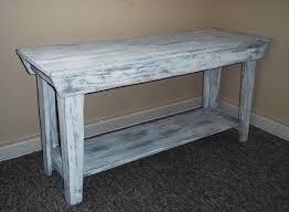 Distressed Table Distressed Wood Sofa Table Sofas