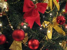 Christmas Tree With Gold Decorations Ideas For Decorating Christmas Trees With Red And Gold Birthday