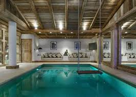 swimming pool room la grande roche courchevel 1850 luxury chalet with swimming pool