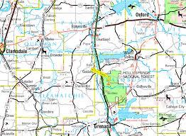 County Map Of Mississippi 675 Acres Timber And Hunting Land Yalobusha County