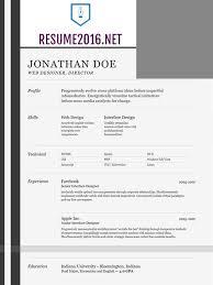 Best Looking Resume Template by Best Resume Template 2016 That Wins U2022