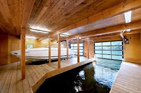 Small Boat Interior Design Ideas by Muskoka Boathouse By Christopher Simmonds Architect