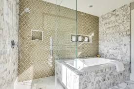 large bathtub shower combo perfect large image for walk in perfect large modern bathroom featuring combination with a glass shower and jacuzzi tub with patterned tile accent with large bathtub shower combo