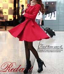 womens red dress coat coat racks