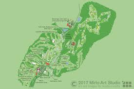 map us open map of bethpage golf course for the usga u s open 2009 mirto