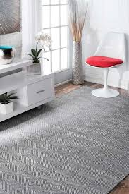 Gray Area Rug Marcelo Flat Woven Cotton Gray Area Rug Reviews Allmodern