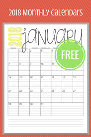 25 unique monthly calendars ideas on pinterest free printable