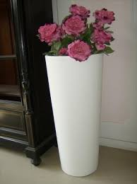 vaso resina bianco vasi linea moderna fratelli vagnoni store per arredare con