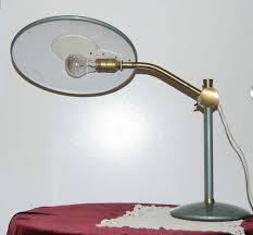 vintage adjustable dazor atomic mid century modern saucer desk