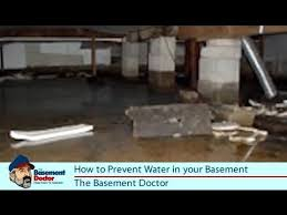 How To Stop Your Basement From Flooding - how to prevent water in the basement u0026 crawl space diy tips