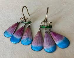 laurel burch earrings early laurel burch etsy