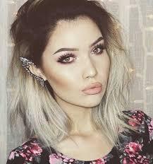 dark roots blonde hair 20 short blonde ombre hair short hairstyles 2016 2017 most