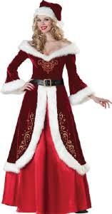 santa claus costume deluxe mrs st nick dress mrs santa claus costume on sale