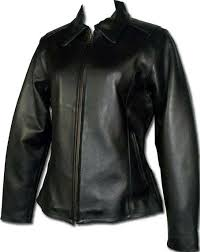 Bikestar Womens Black Leather Motorcycle Jacket