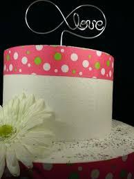 infinity cake topper infinity cake topper crosswiredesign on artfire