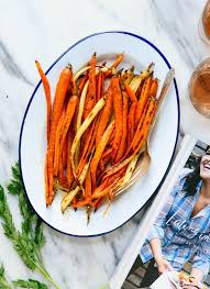 roasted carrots with honey butter cookie and kate