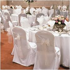 white banquet chair covers white chair covers wedding luxury new white wedding chair cover