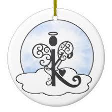 the alphabet letter k ornaments keepsake ornaments zazzle