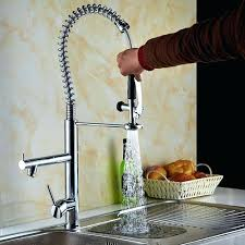 spring pull down kitchen faucet spring pull down kitchen faucet lannister pull down kitchen faucet