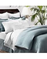 Comforter Thread Count Christmas Savings On Chaps Damask Stripe 500 Thread Count