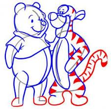 draw draw tigger pooh hellokids