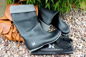 butterfly twists review butterfly twists fold up wellies this year s festival essential