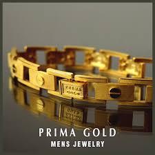 jewelry man gold bracelet images Prima gold japan pure gold bracelet 24k pure gold gold yellow jpg