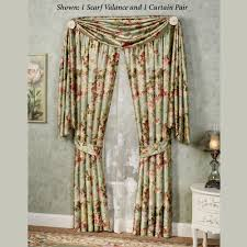 floral curtains touch of class