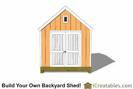 Garden Shed Plan 10x14 Colonial Shed Plans Icreatables Sheds