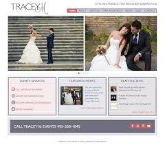 wedding planner website wedding industry website design