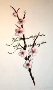 cross tree amazing japanese cherry blossom designs