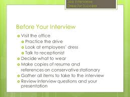 job interview u0026 dress for success how to interview and dress for