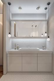 bathroom modern bathroom design with simple pendant lighting and