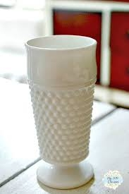 Hobnail Vase Milk Glass Collection My 1929 Charmer