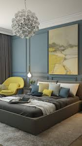 bedrooms bedroom blue colour idea with cream bed curtains and