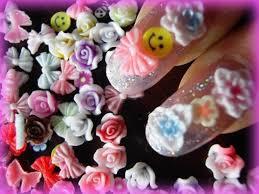 3d nail art molds