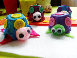 munchkintime easy egg carton turtle craft for kids