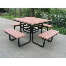 Park Bench And Table Hhy 052 China Hdpe Park Bench With Outdoor Table Manufacturer