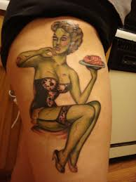 pinup meanings tattoosphoto