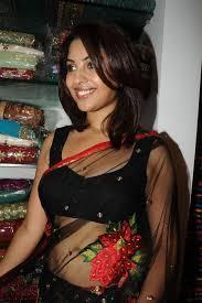fashion yogiz richa gangopadhyay in transparent saree