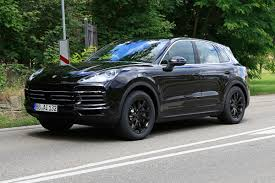 all new 2018 porsche cayenne spied evo