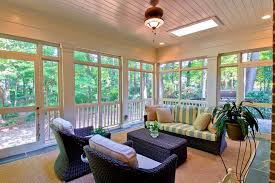 screen porch panels traditional with brick patio contemporary