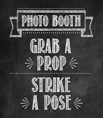 photo booth sign let s party tidbits twine