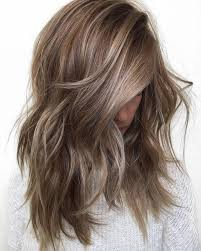 cool light brown hair color medium brown hair color with light highlights