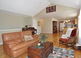 Beautiful Open Floor Plans Spacious Open Floor Plan Warm Colors And Beautiful Hardwood Floors