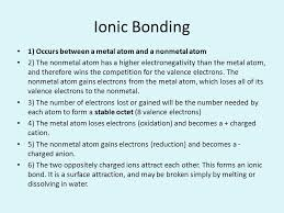 ionic bonding essential question what makes atoms stick together