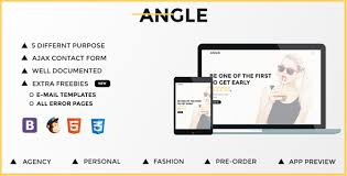 angle responsive coming soon template by grapestheme themeforest