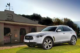 infiniti fx50 uncompromising performance and style from new infiniti fx luxury