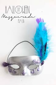 halloween feather masks diy halloween masquerade mask southern revivals