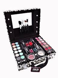 Vanity Box Memories Leopard Vanity Case Beauty Contouring Kit Cosmetic Set